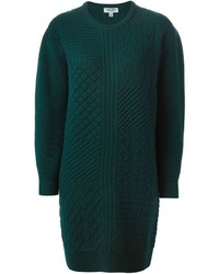 Dark Green Sweater Dress