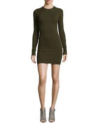 Alice + Olivia Ferris Long Sleeve Knit Sweaterdress