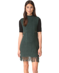 Moon River Turtleneck Sweater Dress