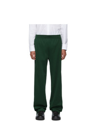 Acne Studios Acne S Green Emmet Face Lounge Pants