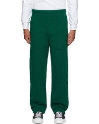 AMI Alexandre Mattiussi Green Ami De Cur Lounge Pants