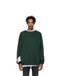 Vetements Green Logo Sweatshirt