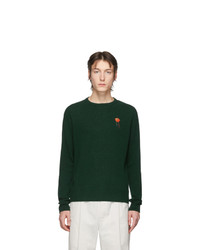 Acne Studios Green Niale Fruit Sweatshirt