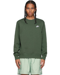 Nike Green Sportswear Club Sweatshirt