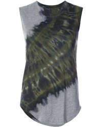 Raquel Allegra Tie Dye Detail Tank Top