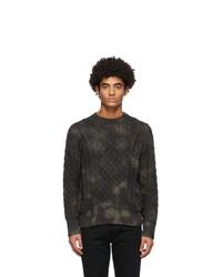Rag and Bone Khaki Camo Carson Sweater