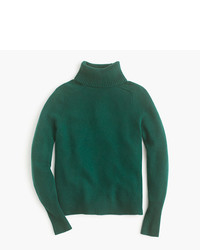J.Crew Classic Turtleneck Sweater In Wool Cashmere Blend