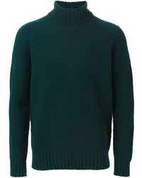 Drumohr Ribbed Roll Neck Sweater