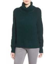 Dex Highlow Turtleneck Sweater