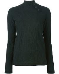 Kolor Jacquard High Neck Sweater