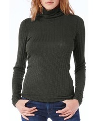 Michael Stars Michl Stars Wide Rib Turtleneck