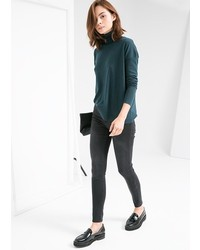 Mango Outlet Turtle Neck Sweater