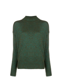 Etro Sparkly Knit Roll Neck Jumper