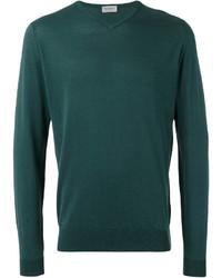 Slight v neck jumper medium 3661451