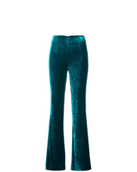 Galvan Velvet Flared Trousers
