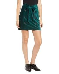 MOON RIVE R Velour Skirt