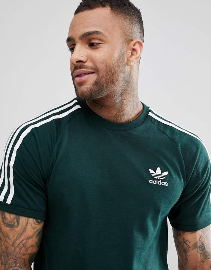 Ver insectos Ártico Dibujar  adidas Originals Adicolor California T Shirt In Green Cz4545, $24 | Asos |  Lookastic
