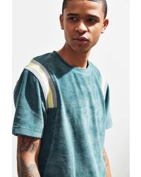 Urban Outfitters Uo Velour Rib Inset Tee