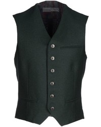 Dark Green Waistcoat