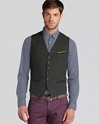0905c1d1a564 Men s Dark Green Waistcoats by Ted Baker