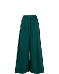 Bodice Studio Merino Wool Side Pleated Trousers