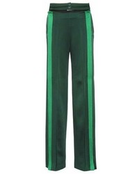 Valentino Striped Wide Leg Trousers