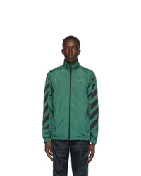Off-White Green Nylon Jacket