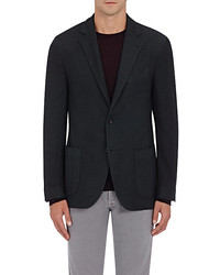 Barneys New York Piqu Two Button Sportcoat
