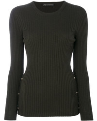 Versace Ribbed Top