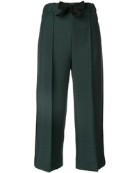 Fendi Bow Tied Tailored Culottes