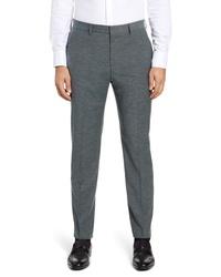 BOSS Pirko Solid Wool Cotton Trousers