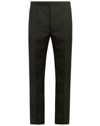 Dark Green Dress Pants for Men | Men's Fashion