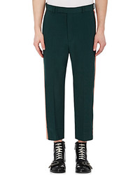 Gucci Wool Relaxed Fit Trousers