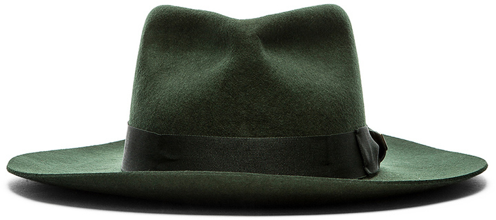 ... Green Wool Hats Brixton Lopez Fedora ... 0ea48c55702