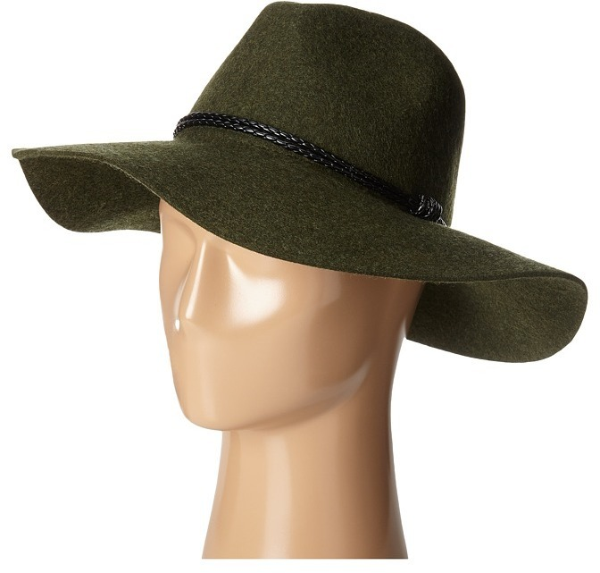 14ff75e3f70 ... San Diego Hat Company Wfh8017 Floppy With Pinch Crown And Double  Wrapped Faux Fur Leather Band ...