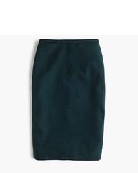 J.Crew Pencil Skirt In Double Serge Wool
