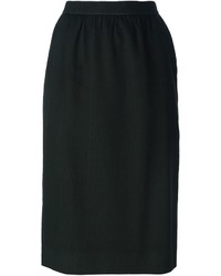 Guy Laroche Vintage Straight Fit Skirt