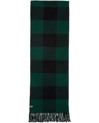 Mackage Green Langevin Double Face Scarf