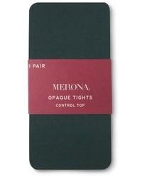 Merona 50 Denier Opaque Tights Tm