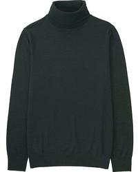 Uniqlo Extra Fine Merino Turtleneck Sweater