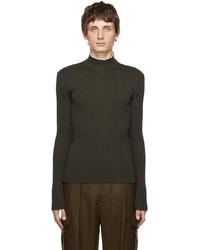 UNIFORME Merino Wool Funnel Neck Sweater