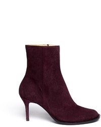 Dark purple ankle boots original 9658103