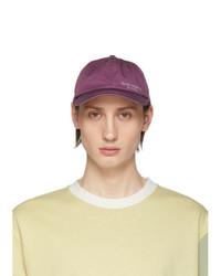 Acne Studios Purple Carliy Dye Baseball Cap