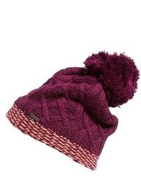 Dark Purple Beanie