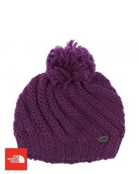 The north face butters beanie urchin purple medium 343761