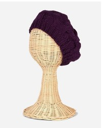 San Diego Hat Company Cable Knit Beret