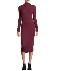 Cotton Citizen Melbourne Rib Knit Midi Dress