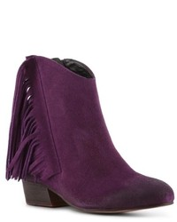 Dark Purple Boots