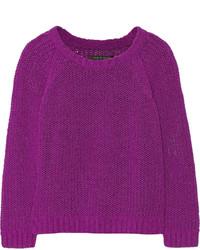 Rag and Bone Rag Bone Kendall Knitted Cotton Blend Sweater