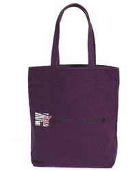 Marc Jacobs Mtv Canvas Tote Purple
